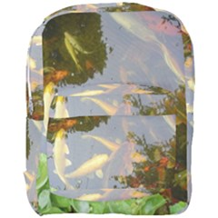 Koi Fish Pond Full Print Backpack