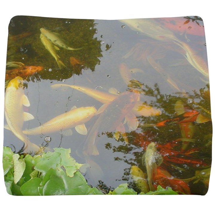 Koi Fish Pond Seat Cushion
