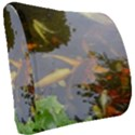 Koi Fish Pond Seat Cushion View2