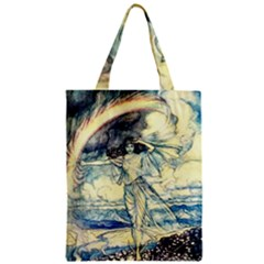 Vintage   To See The Sea Zipper Classic Tote Bag by WensdaiAddamns