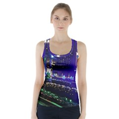 Columbus Commons Racer Back Sports Top