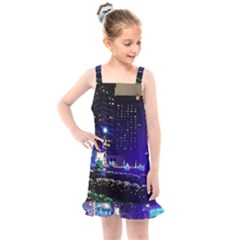 Columbus Commons Kids  Overall Dress