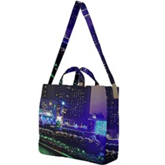 Columbus Commons Square Shoulder Tote Bag
