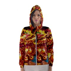 Dragon Lights Hooded Windbreaker (women)