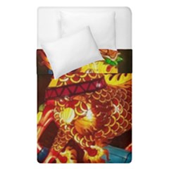Dragon Lights Duvet Cover Double Side (single Size)