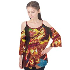 Dragon Lights Flutter Tees