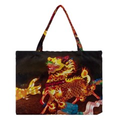 Dragon Lights Medium Tote Bag