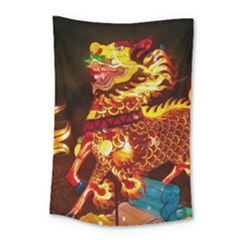 Dragon Lights Small Tapestry