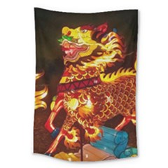Dragon Lights Large Tapestry
