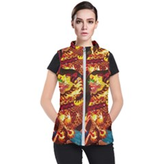 Dragon Lights Women s Puffer Vest