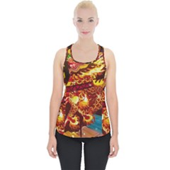 Dragon Lights Piece Up Tank Top