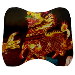 Dragon Lights Velour Head Support Cushion