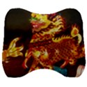 Dragon Lights Velour Head Support Cushion View1