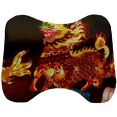 Dragon Lights Head Support Cushion