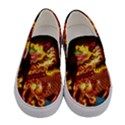Dragon Lights Women s Canvas Slip Ons View1