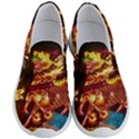 Dragon Lights Men s Lightweight Slip Ons View1