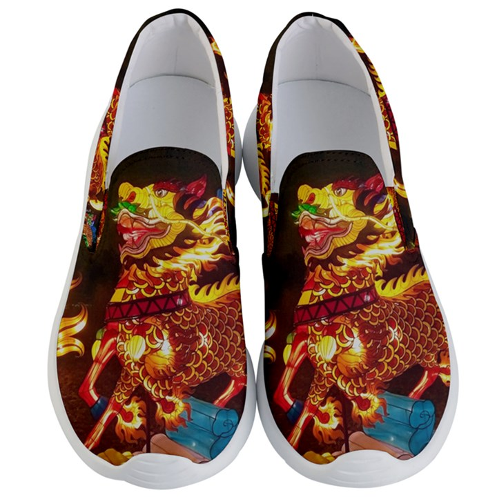 Dragon Lights Men s Lightweight Slip Ons
