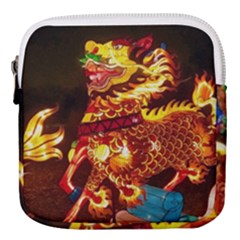 Dragon Lights Mini Square Pouch