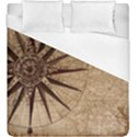 Vintage Compass Duvet Cover (King Size) View1