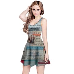 Concert Memorabilia  Reversible Sleeveless Dress