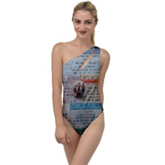 Concert Memorabilia  To One Side Swimsuit by StarvingArtisan