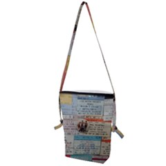 Concert Memorabilia  Folding Shoulder Bag