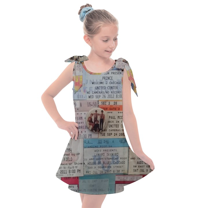 Concert Memorabilia  Kids  Tie Up Tunic Dress