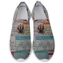 Concert Memorabilia  Men s Slip On Sneakers