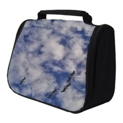 Pelicans In Flight Full Print Travel Pouch (small)