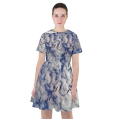 Pelicans In Flight Sailor Dress