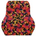 Red Floral Collage Print Design 2 Car Seat Back Cushion  View1