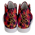 Red Floral Collage Print Design 2 Men s Hi-Top Skate Sneakers View4