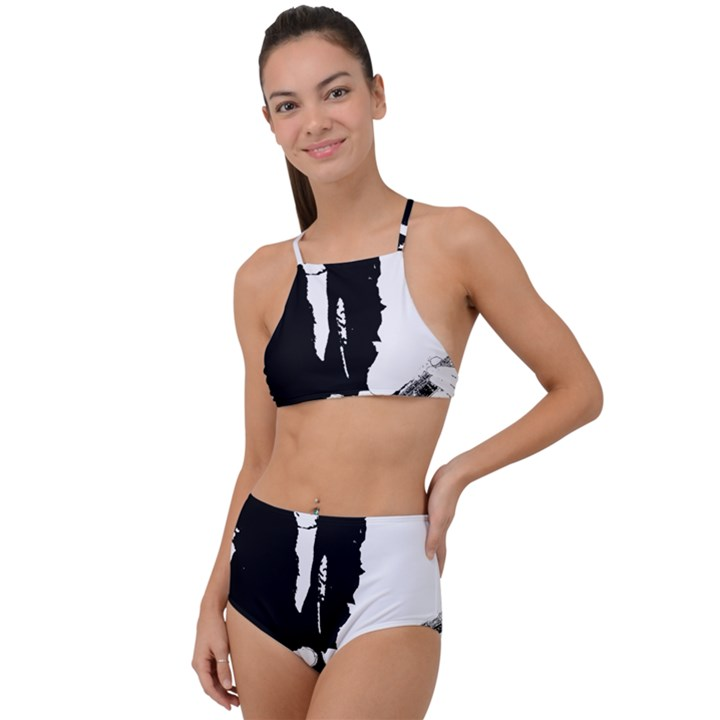 J.E.L. High Waist Tankini Set