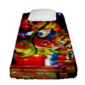 Dragon Lights Centerpiece Fitted Sheet (Single Size) View1