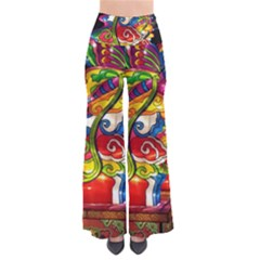 Dragon Lights Centerpiece So Vintage Palazzo Pants