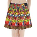 Dragon Lights Centerpiece Pleated Mini Skirt View1