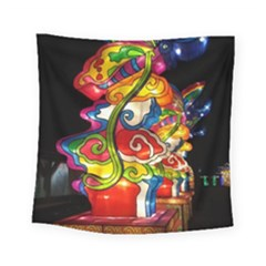 Dragon Lights Centerpiece Square Tapestry (small)