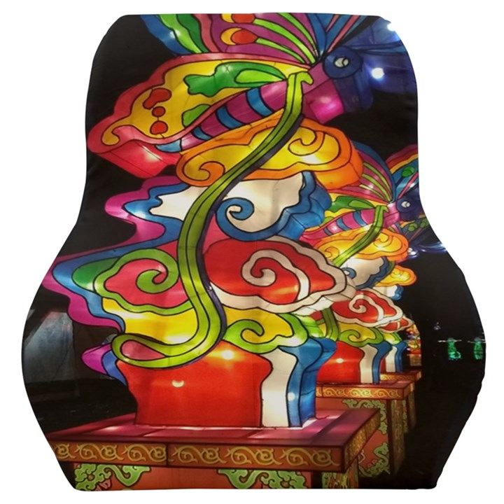 Dragon Lights Centerpiece Car Seat Back Cushion
