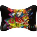 Dragon Lights Centerpiece Seat Head Rest Cushion View1