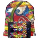 Dragon Lights Centerpiece Giant Full Print Backpack View1