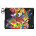 Dragon Lights Centerpiece Canvas Cosmetic Bag (XL) View1