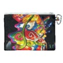 Dragon Lights Centerpiece Canvas Cosmetic Bag (XL) View2