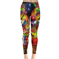 Dragon Lights Centerpiece Inside Out Leggings