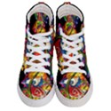 Dragon Lights Centerpiece Women s Hi-Top Skate Sneakers View1