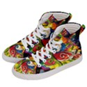 Dragon Lights Centerpiece Women s Hi-Top Skate Sneakers View2