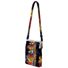 Dragon Lights Centerpiece Multi Function Travel Bag by Riverwoman