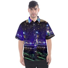 Columbus Commons Lights Men s Short Sleeve Shirt