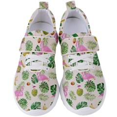 Flamingo Pattern Women s Velcro Strap Shoes by Valentinaart