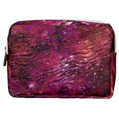 Funny Galaxy Tiger Pattern Make Up Pouch (medium)