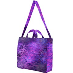 Funny Galaxy Tiger Pattern Square Shoulder Tote Bag by tarastyle